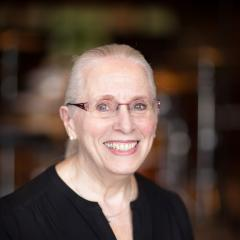 Portrait image of Judy Slaughter