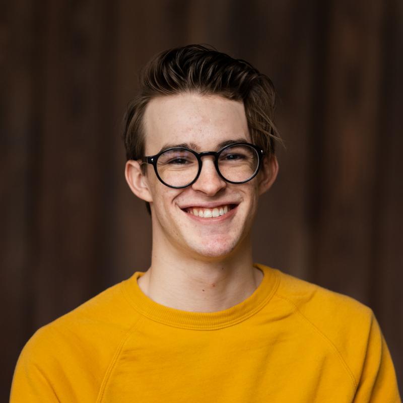 Portrait of Gavin Wroblewski
