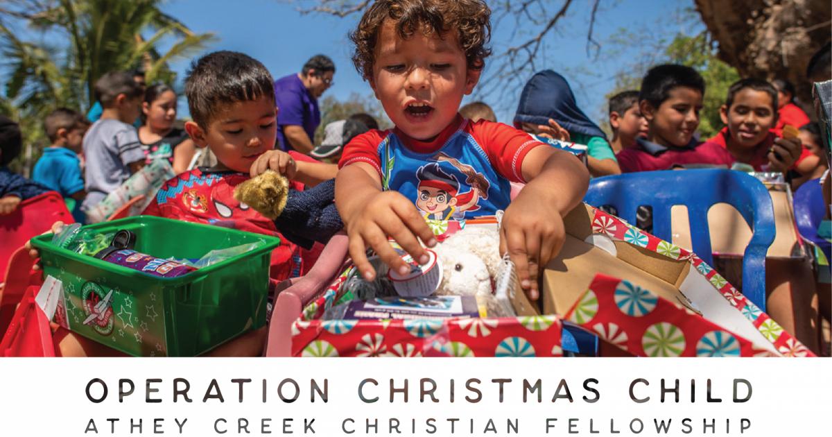 An Athey Creek Christmas 2020 Athey Creek Christian Fellowship   Operation Christmas Child