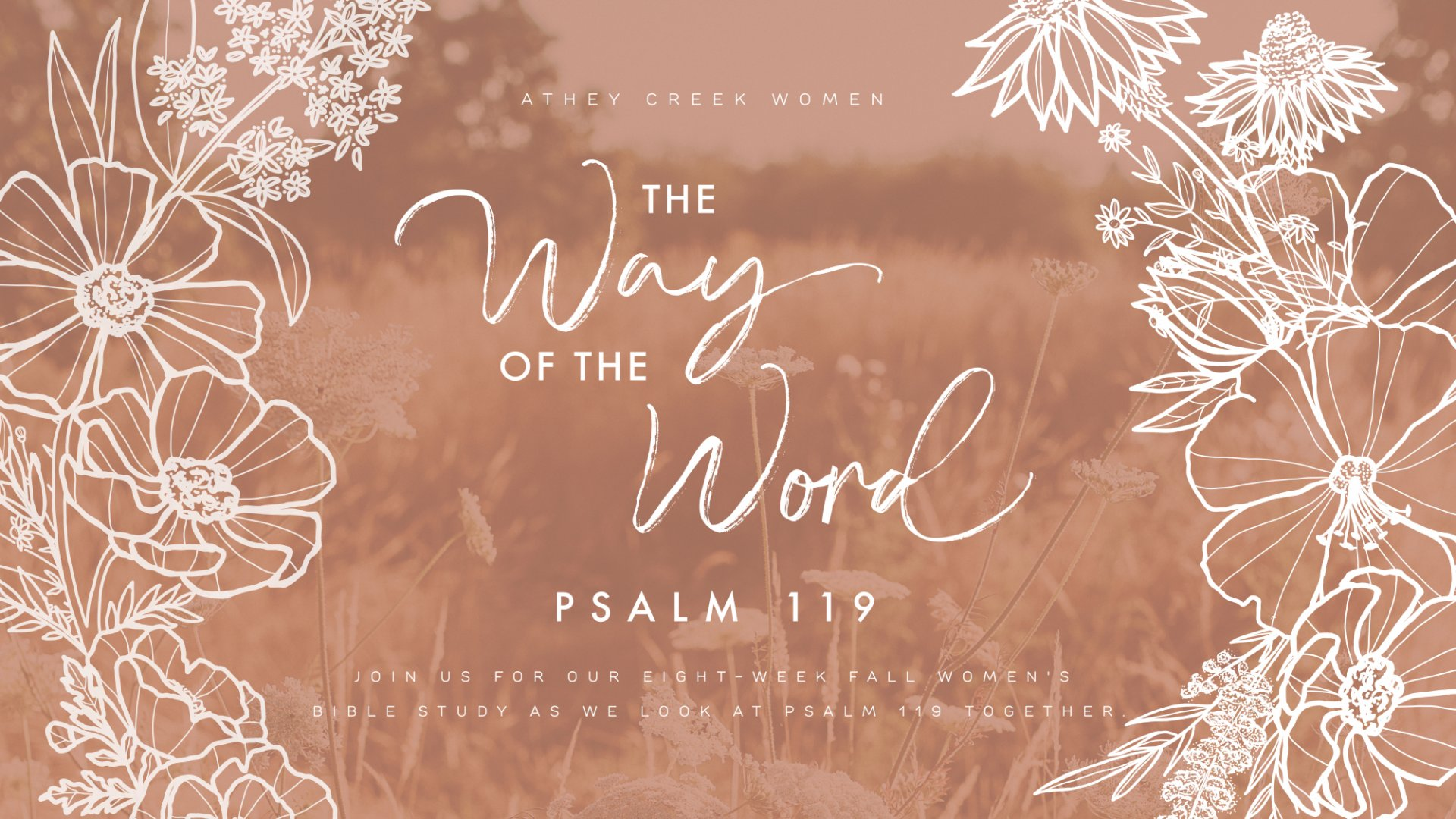 Teaching artwork for The Way of the Word: Psalm 119