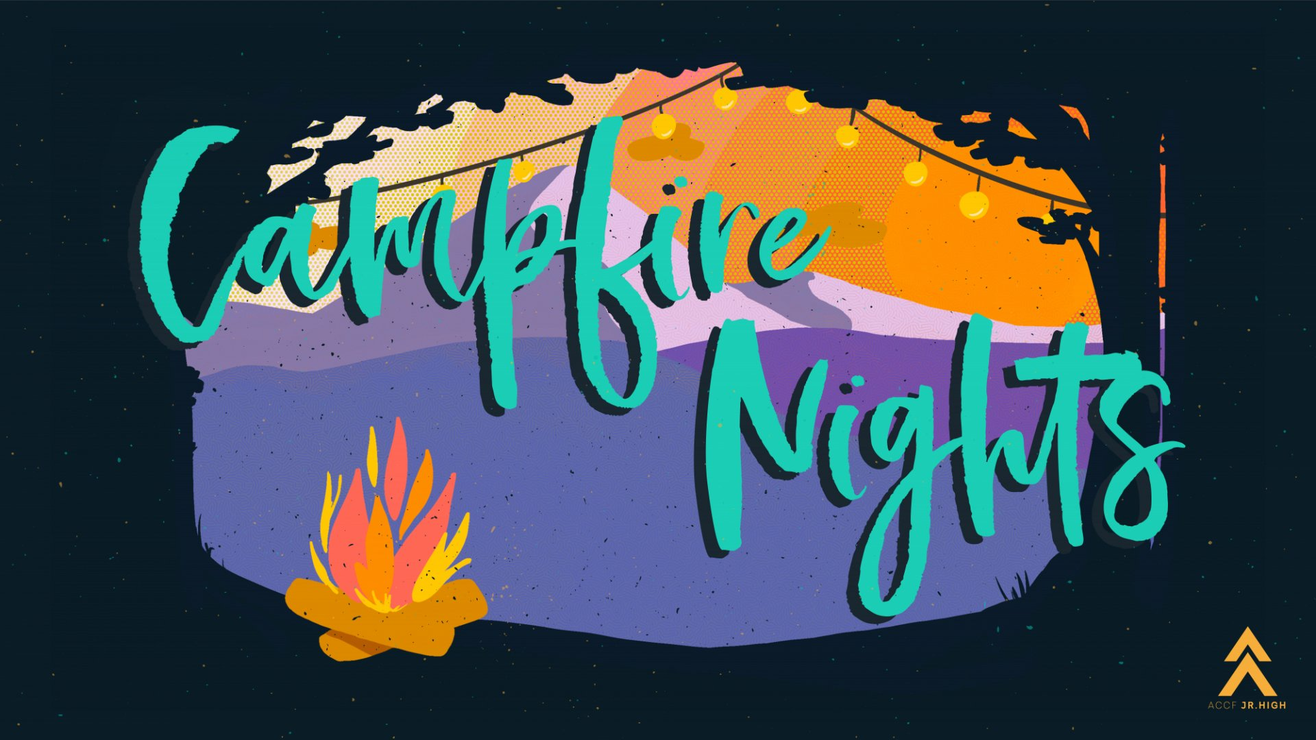 Poster for Campfire Nights