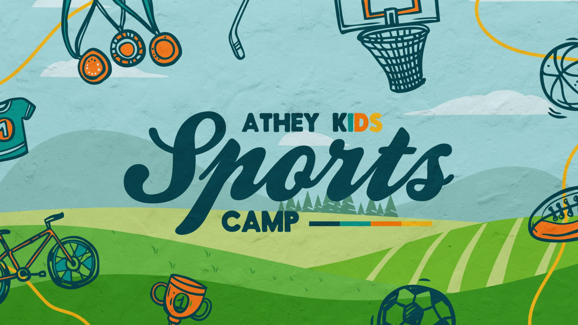 Poster for Athey Kids Sports Camp