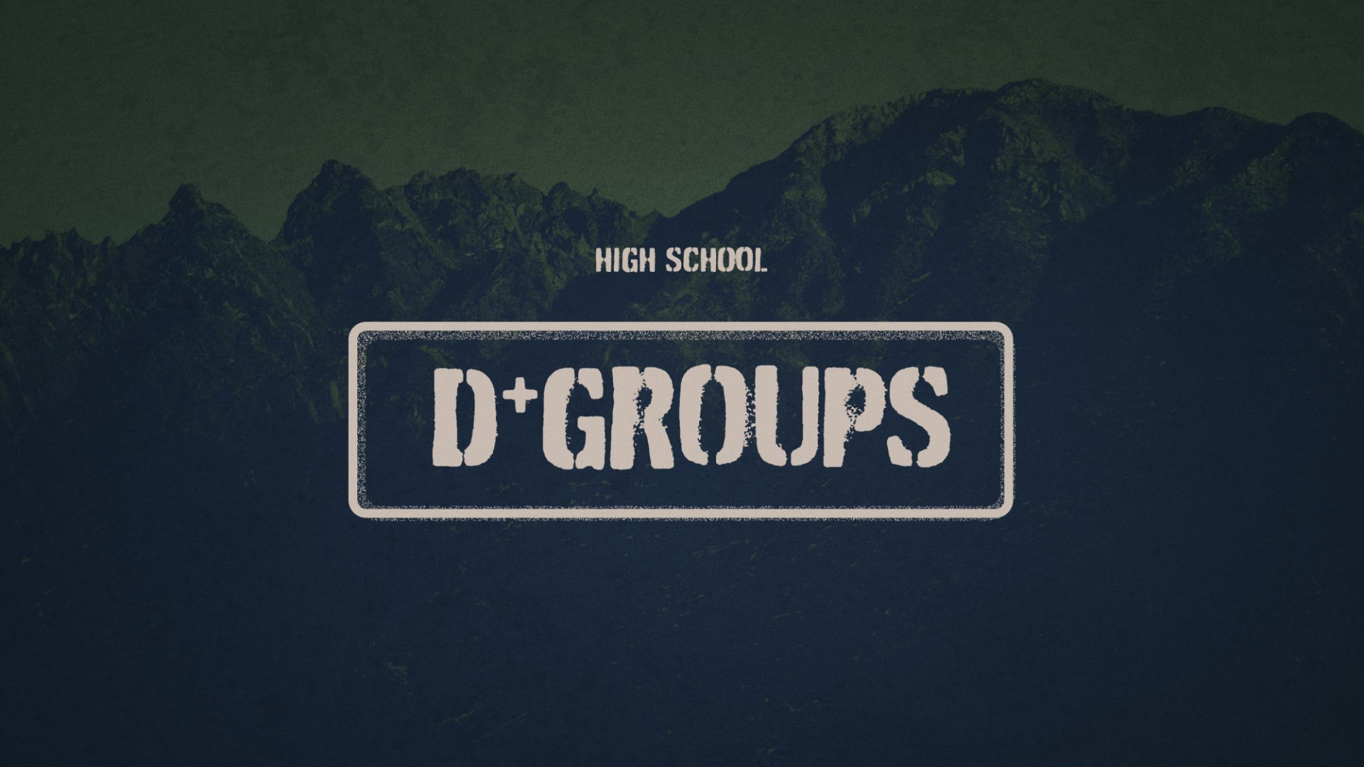 Poster for D-Groups