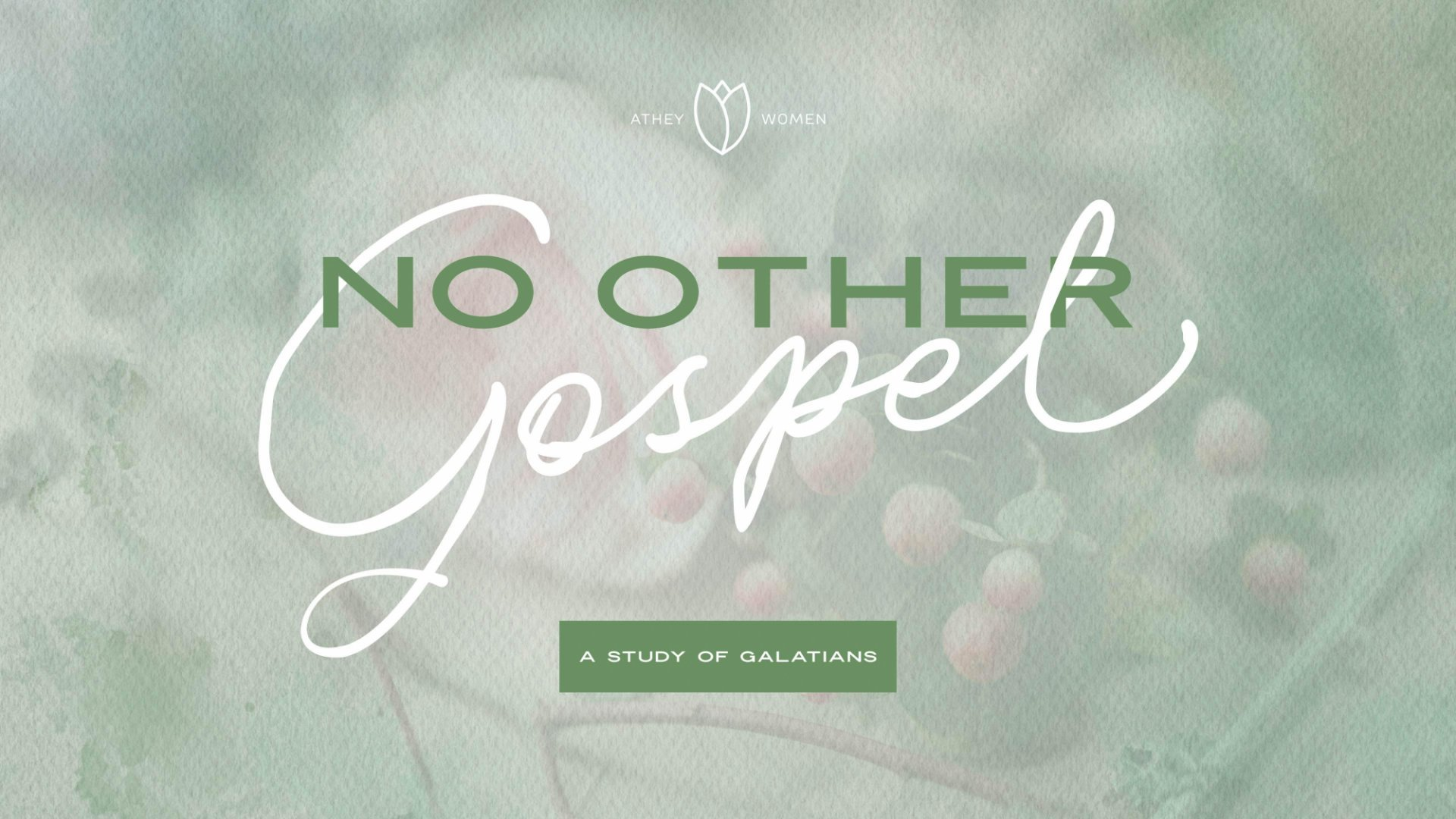 Poster for No Other Gospel: Galatians Bible Study