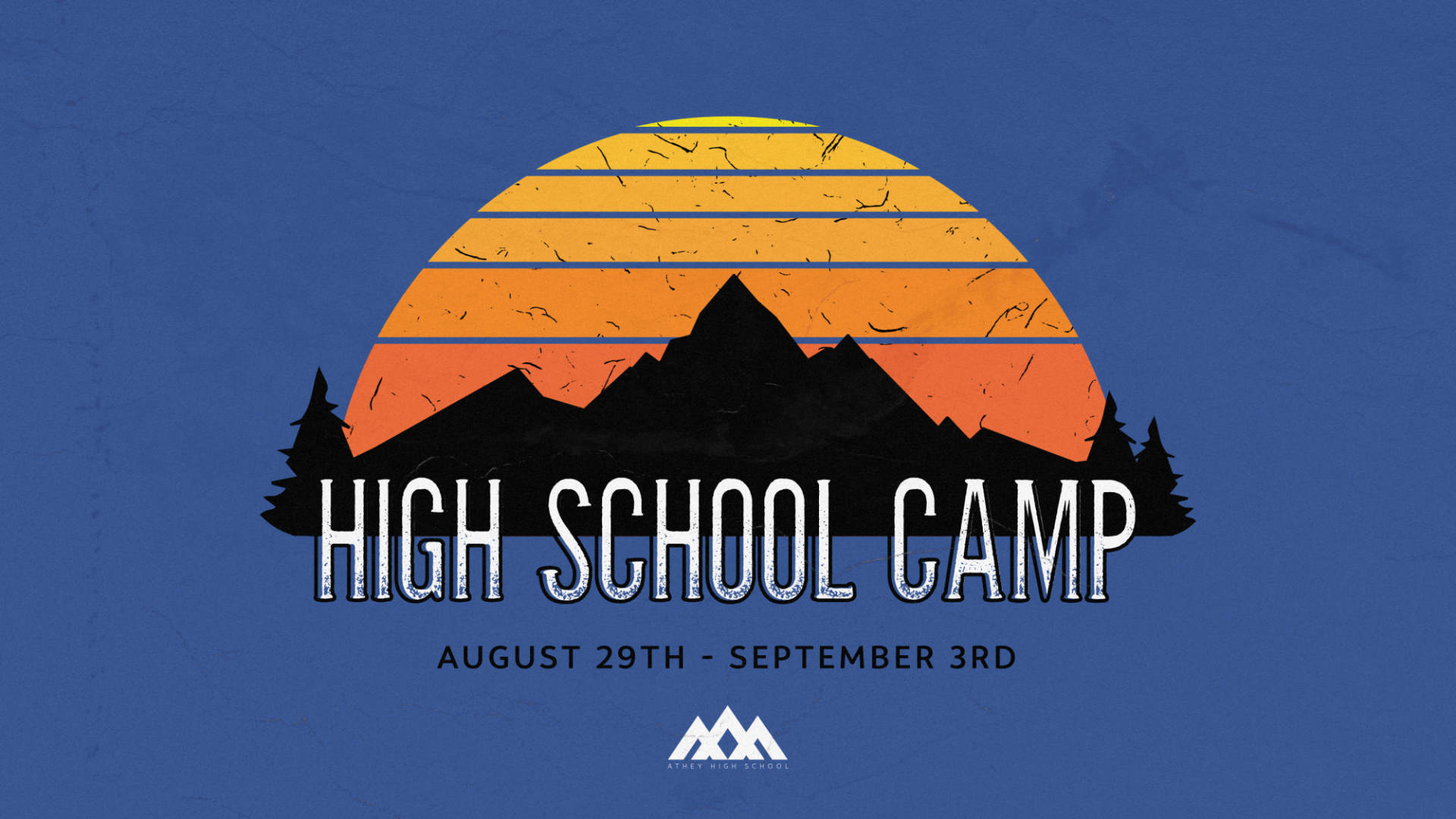 Poster for High School Camp