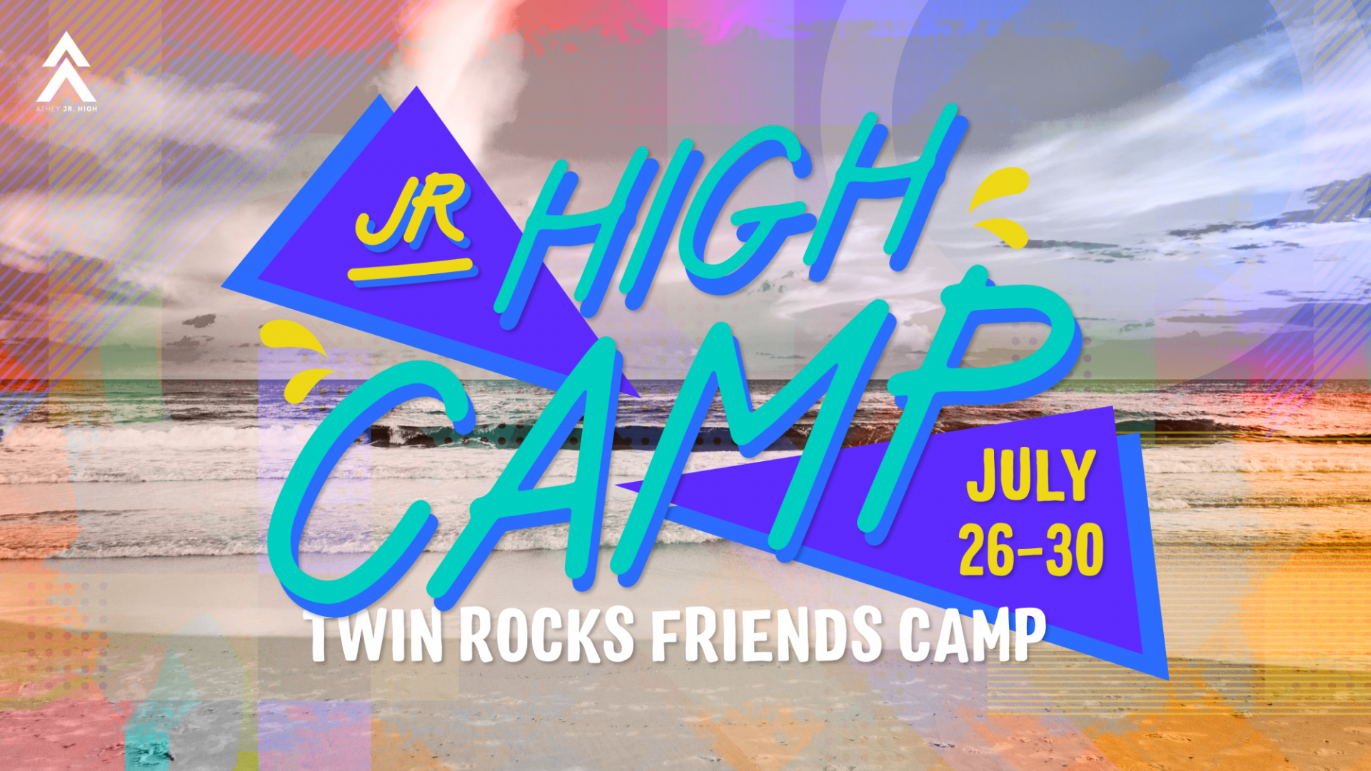 Poster for Junior High Camp