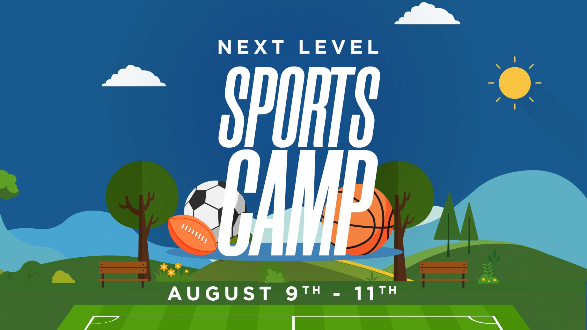 Poster for Next Level Sports Camp