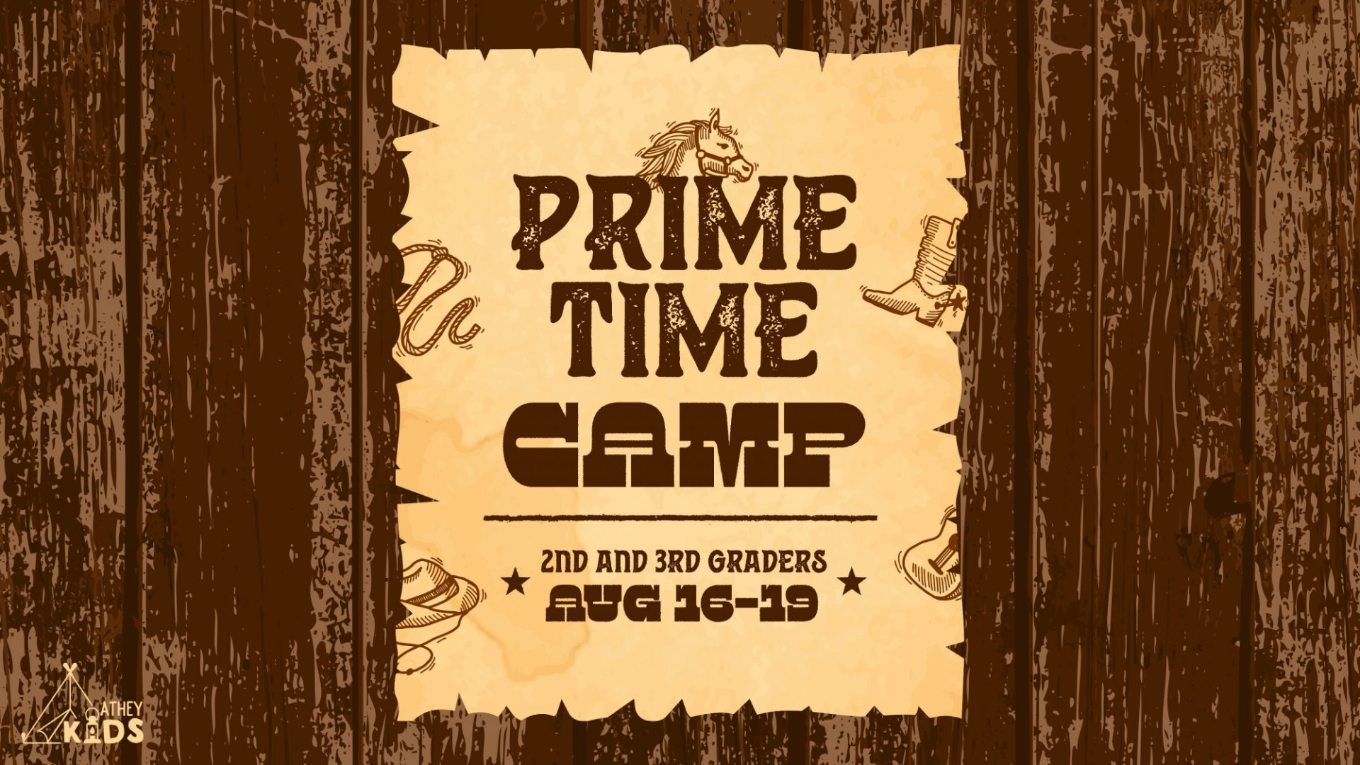 Poster for Prime Time Camp