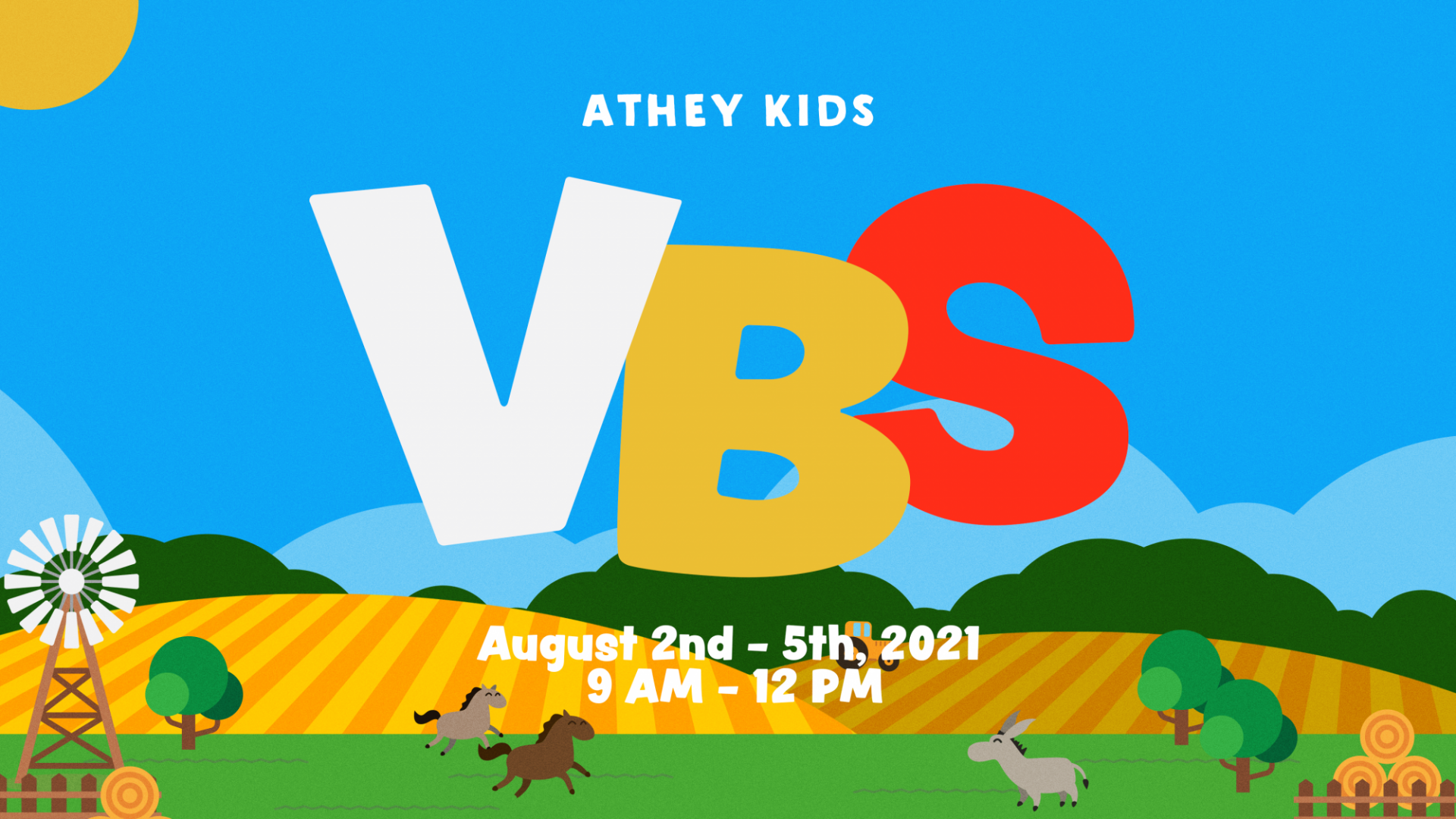 Poster for VBS 2021