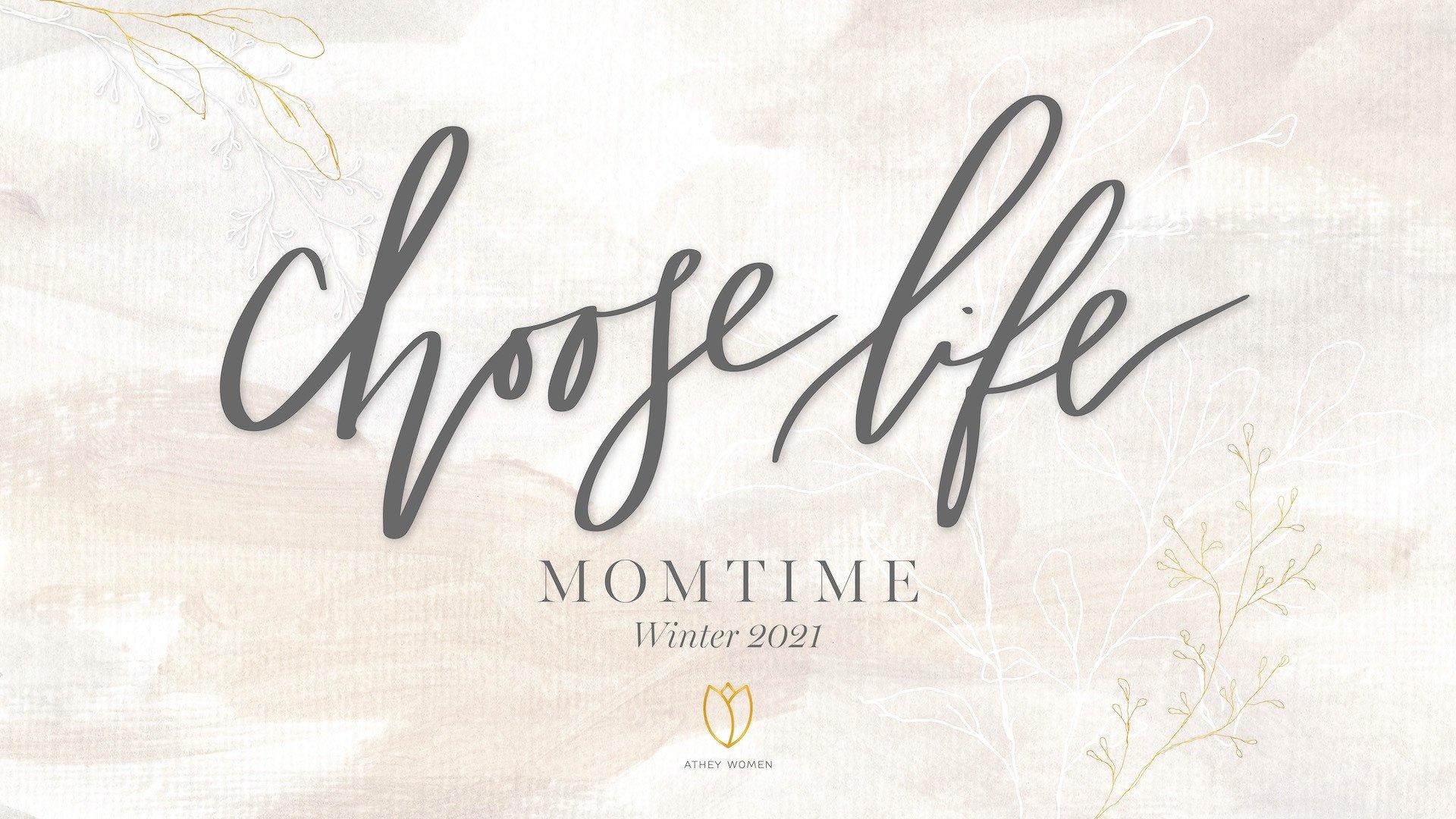 Teaching artwork for Choose Life: Momtime