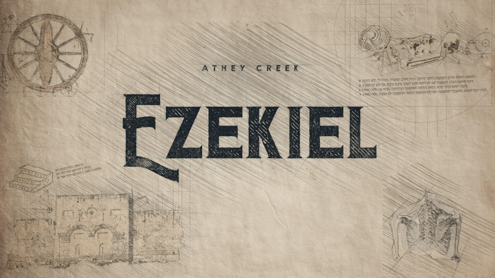 Teaching artwork for Ezekiel