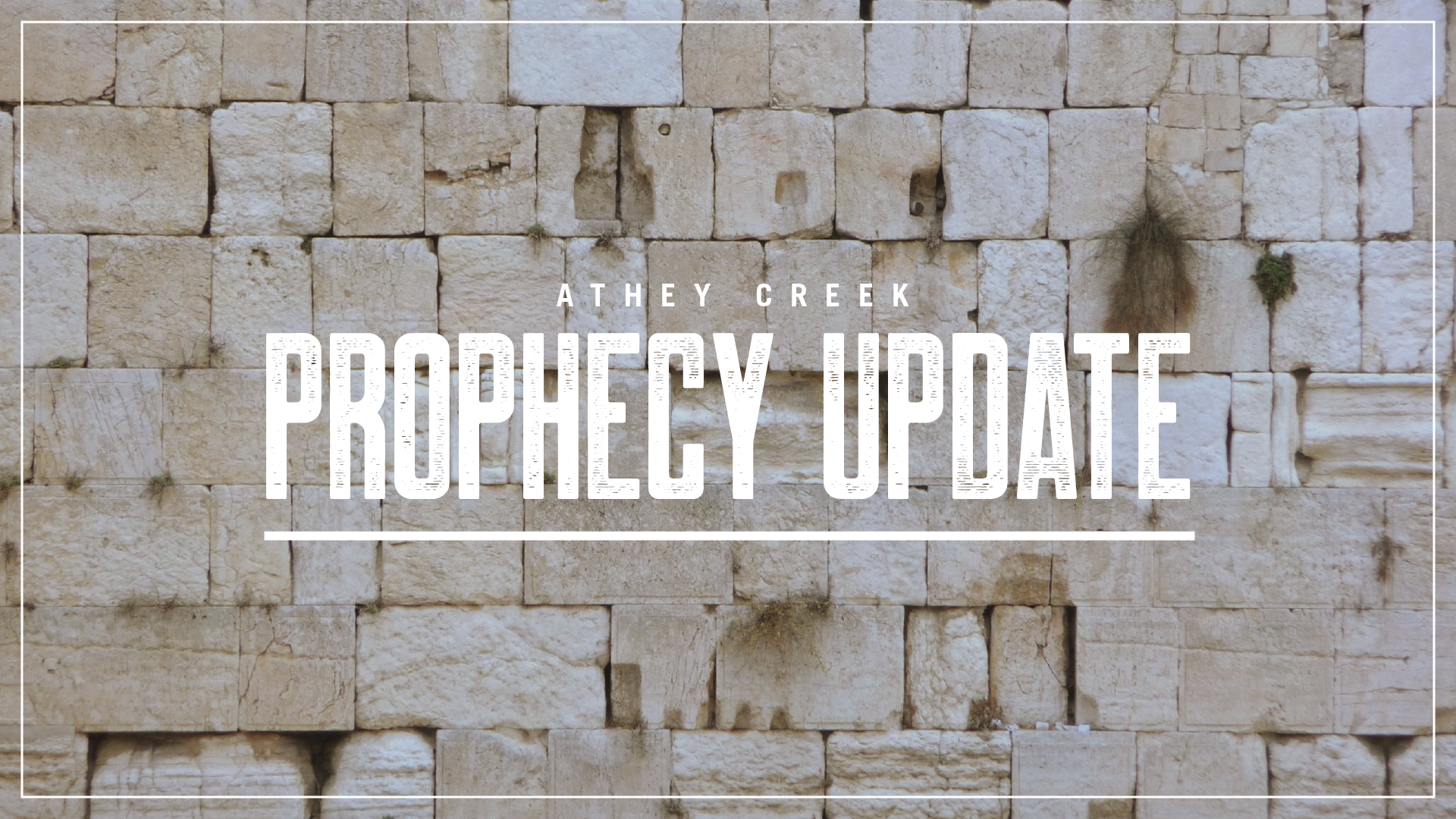 Teaching artwork for Prophecy Updates
