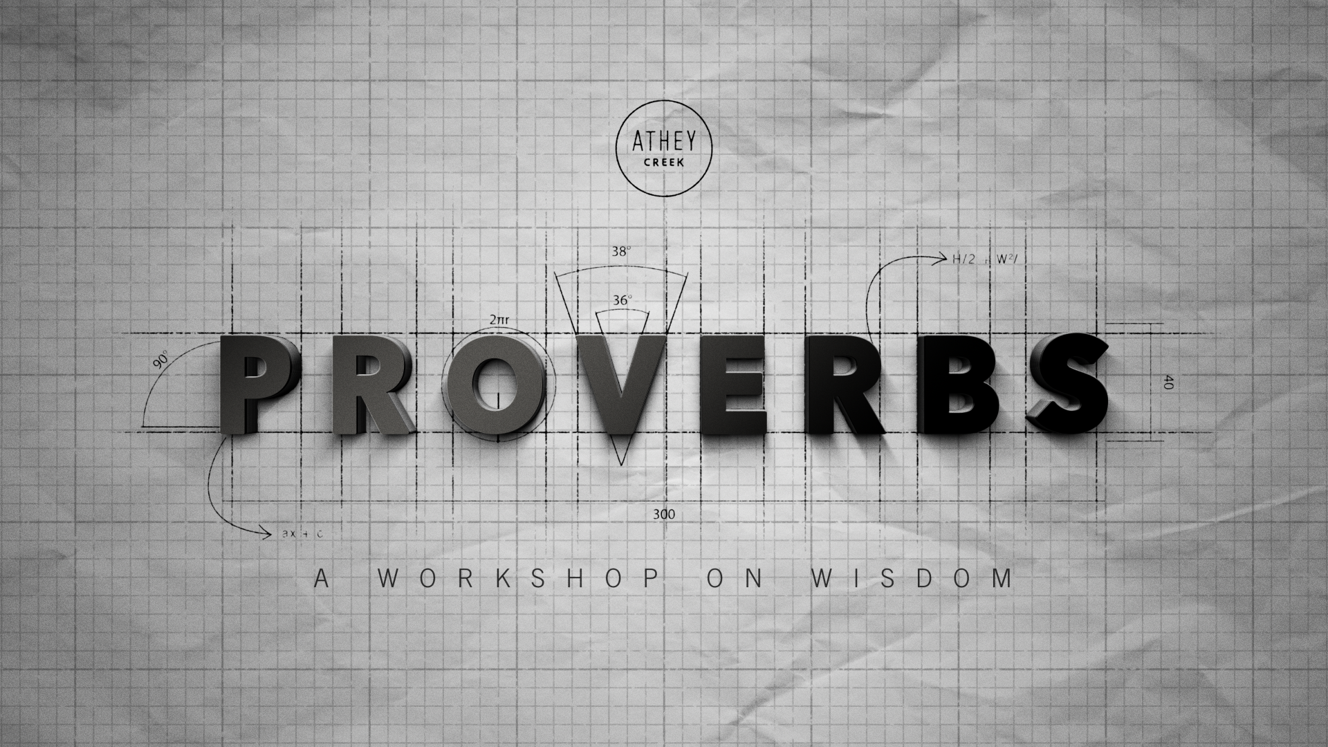 Teaching artwork for Proverbs