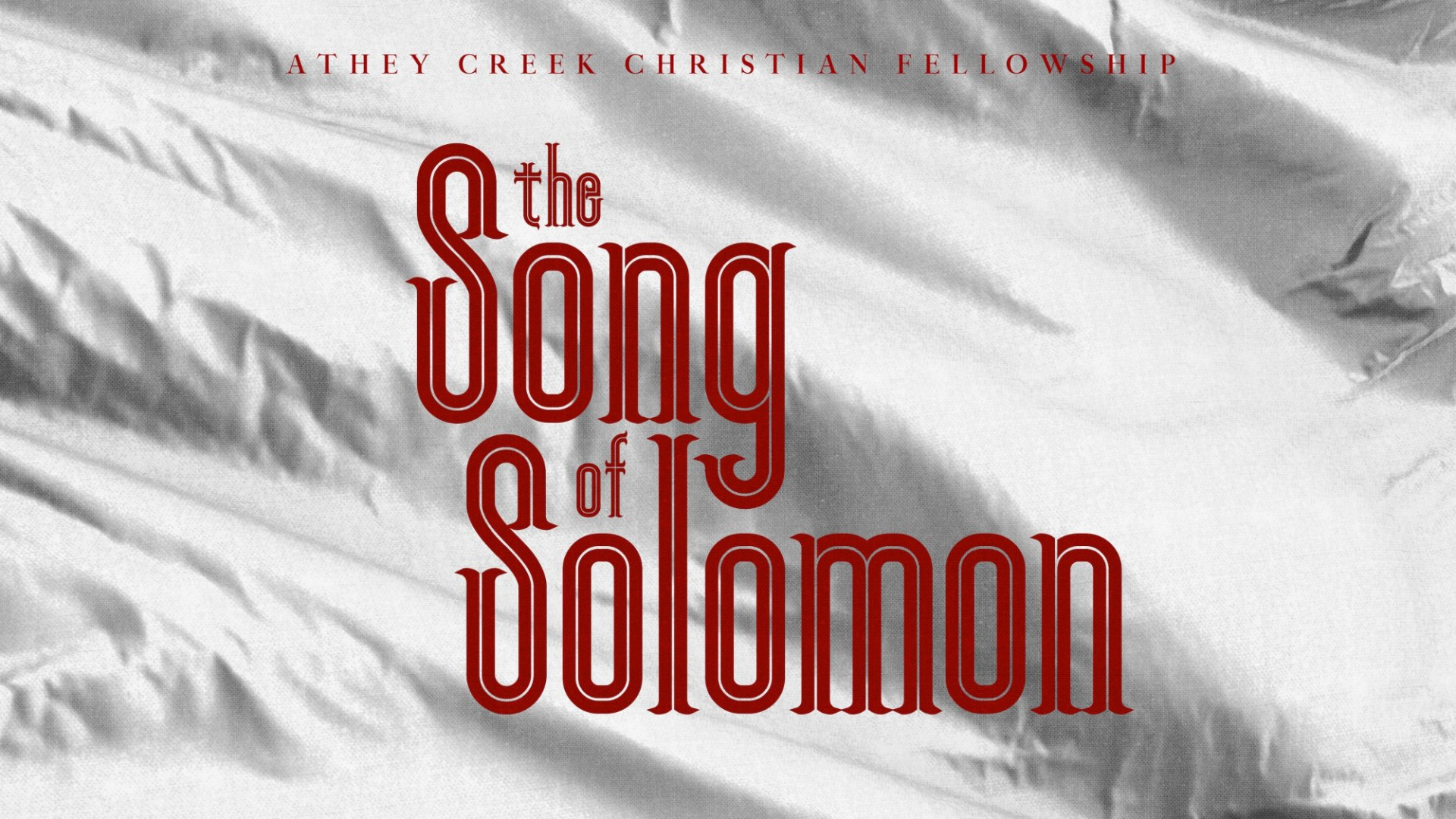 Teaching artwork for Song of Solomon