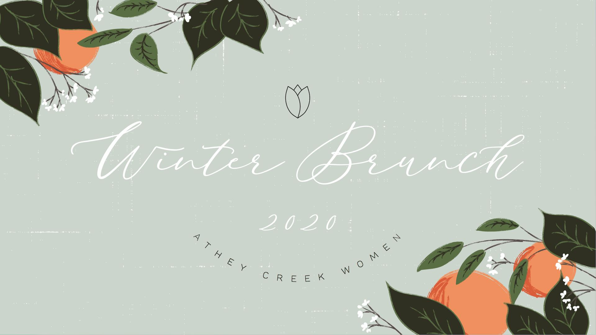 Teaching artwork for Women's Winter Brunch