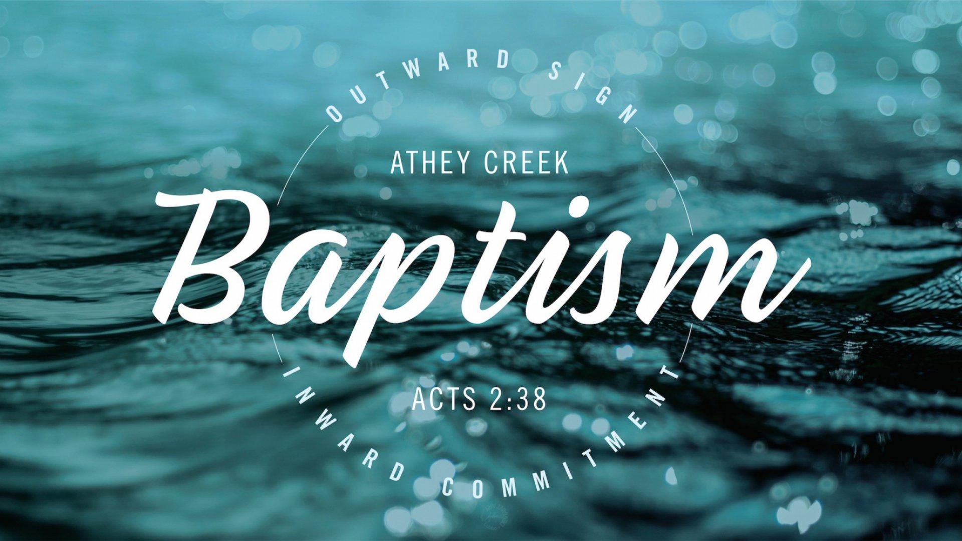 Poster for Baptism