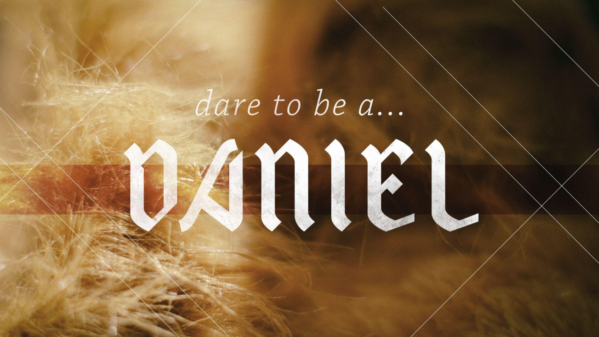 Teaching artwork for Dare to be a Daniel