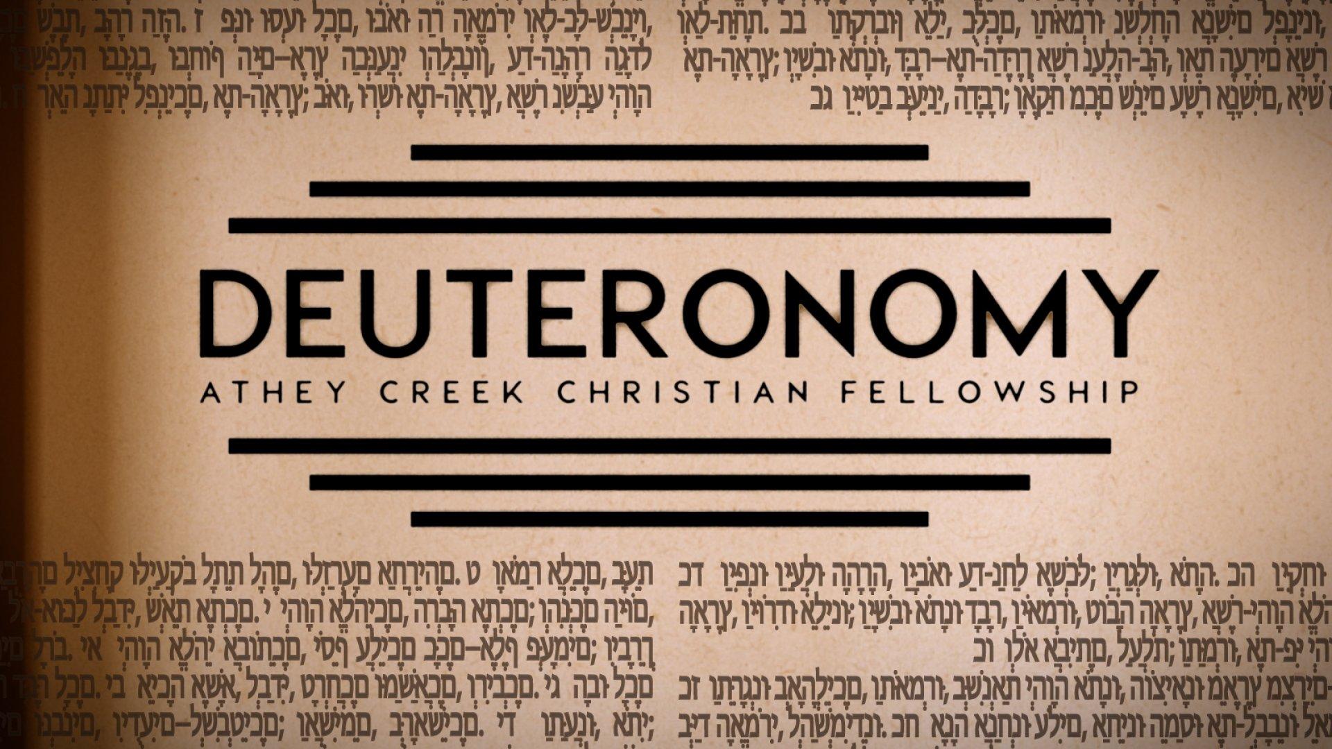 Teaching artwork for Deuteronomy
