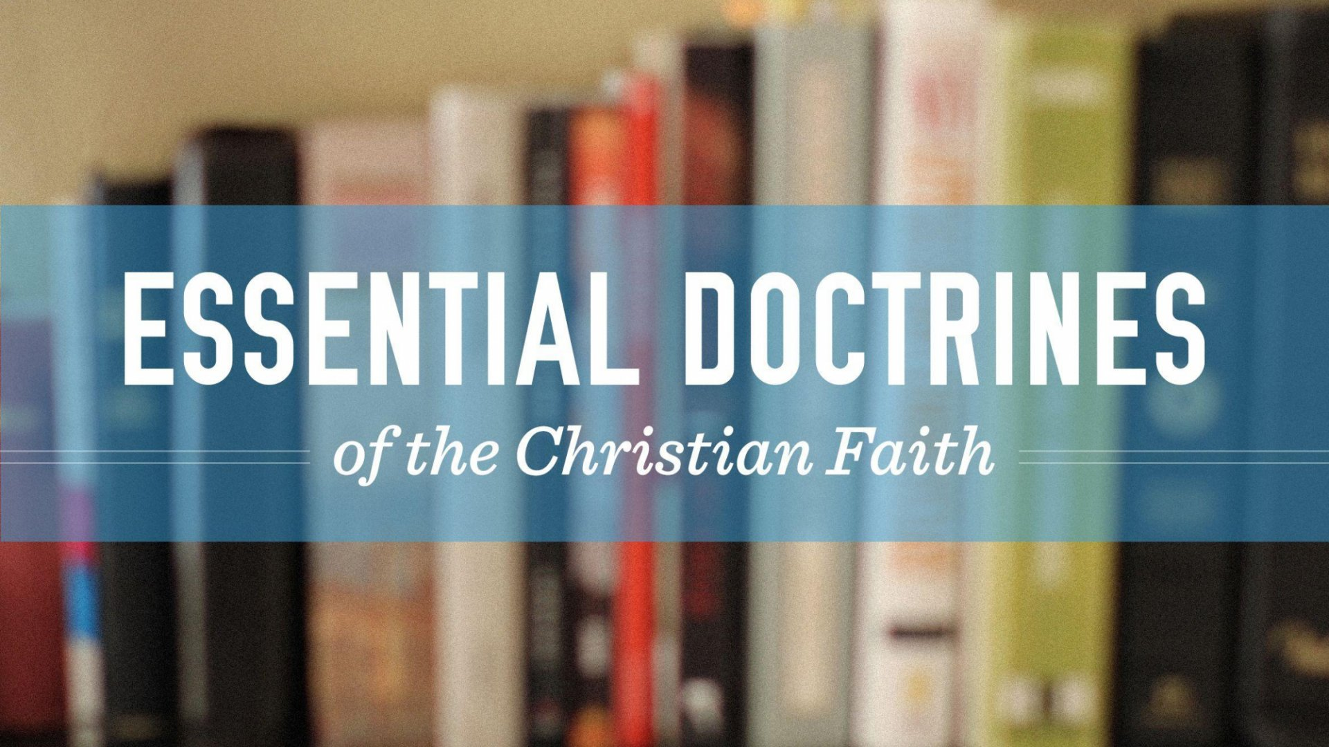 Teaching artwork for Essential Doctrines