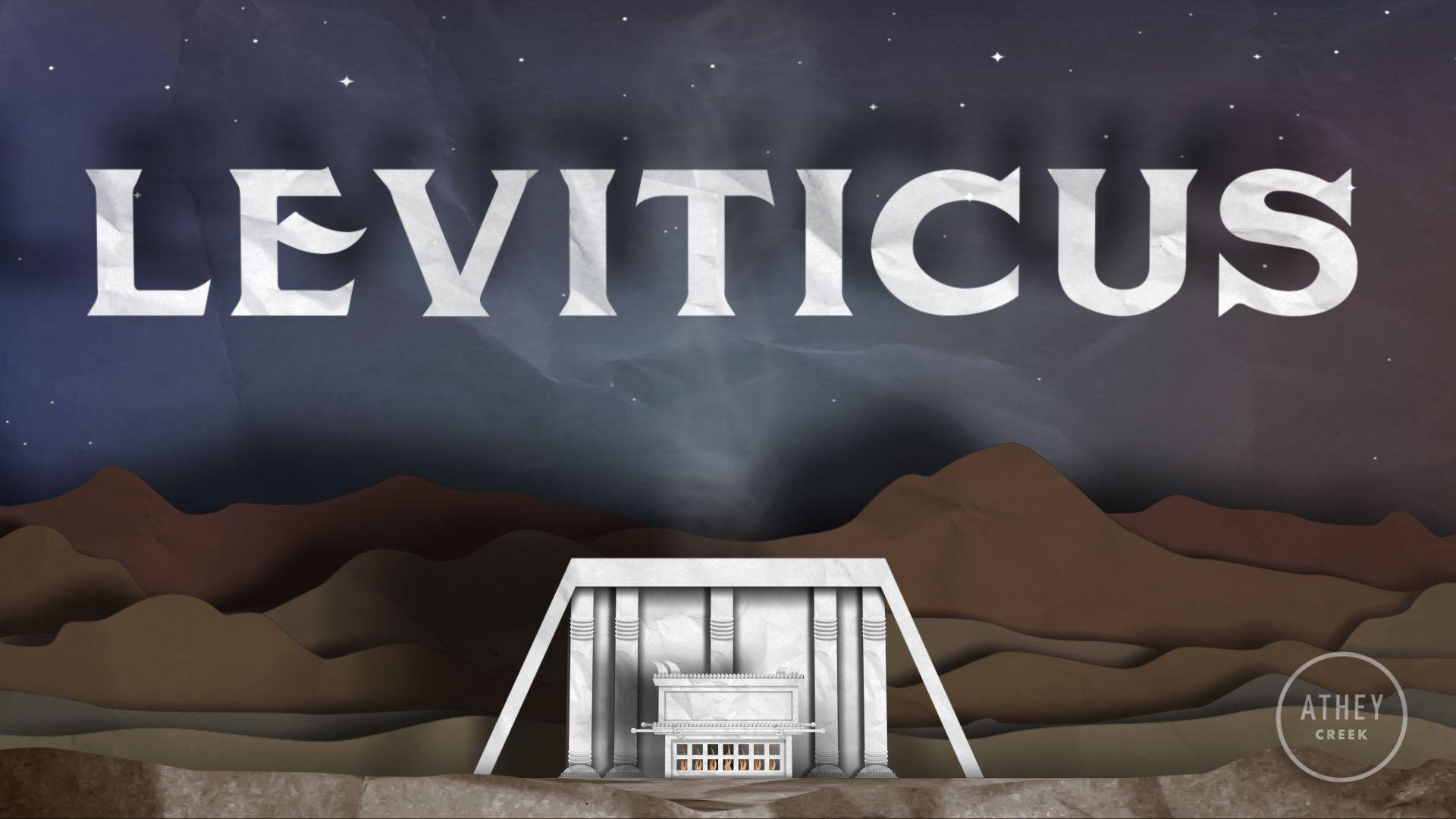 Teaching artwork for Leviticus