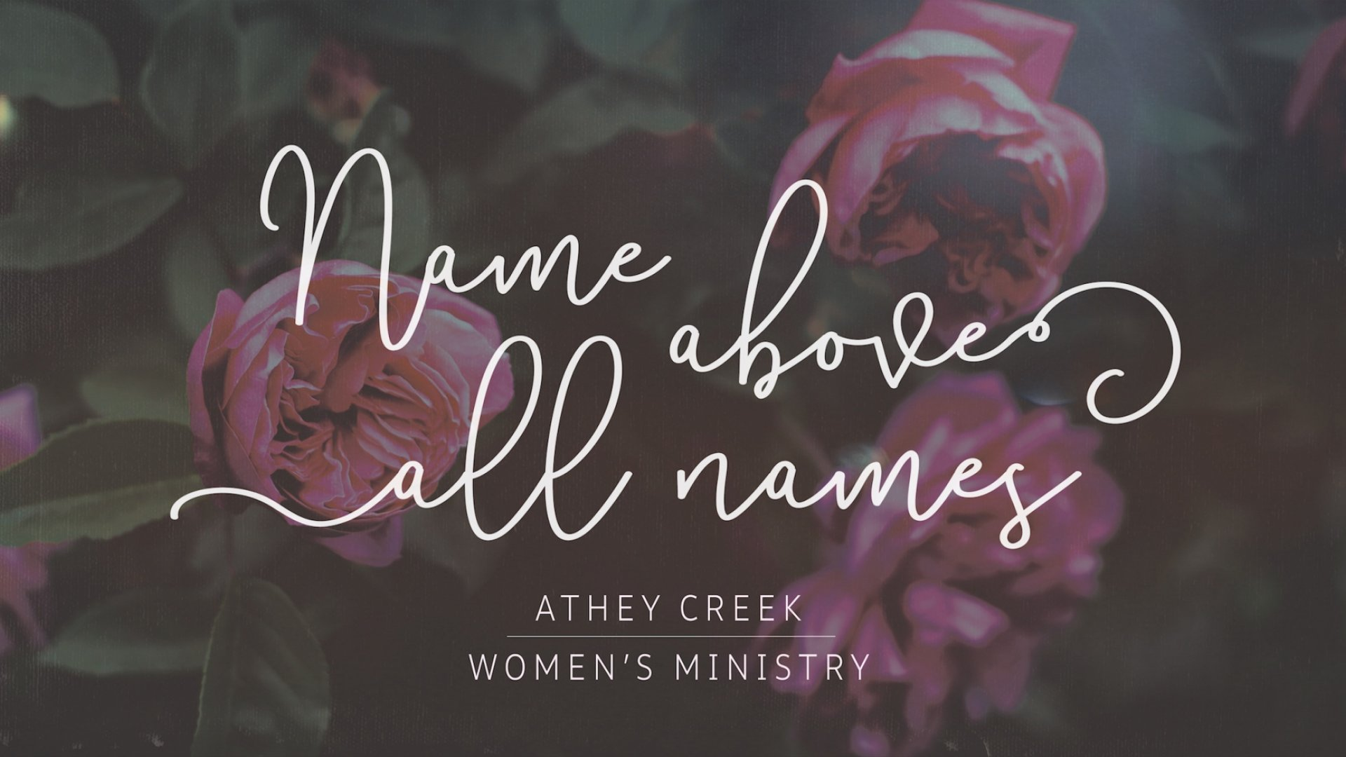 Teaching artwork for Name Above All Names
