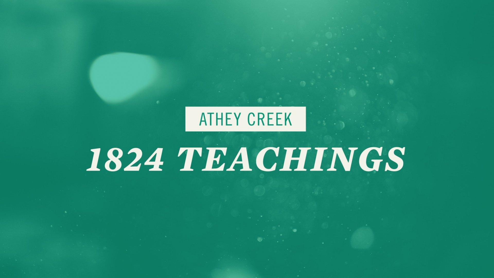 Poster for1824 | Teachings