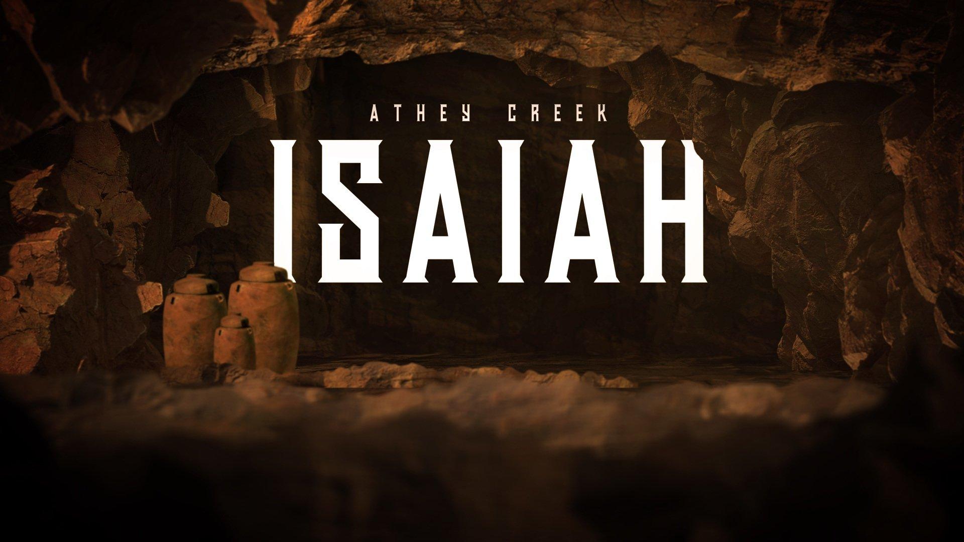 Teaching artwork for Isaiah