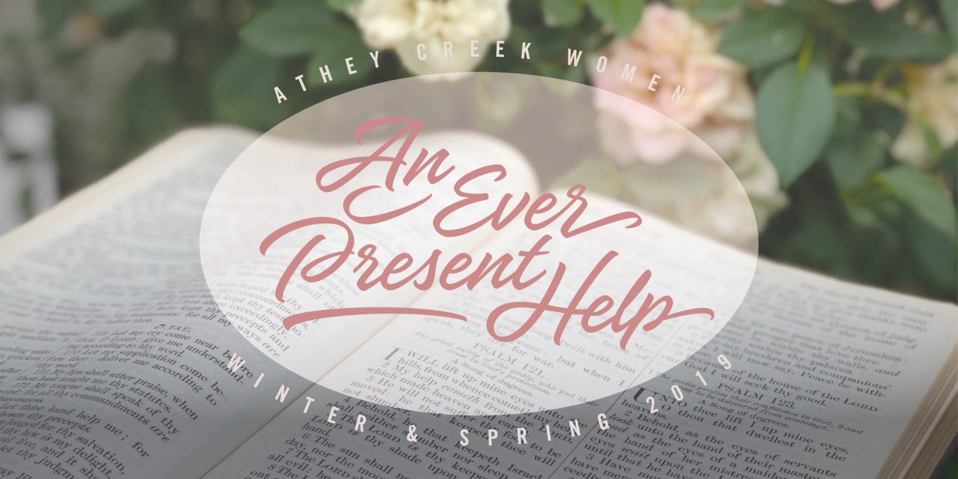 Poster forAn Ever Present Help | Be Still & Know
