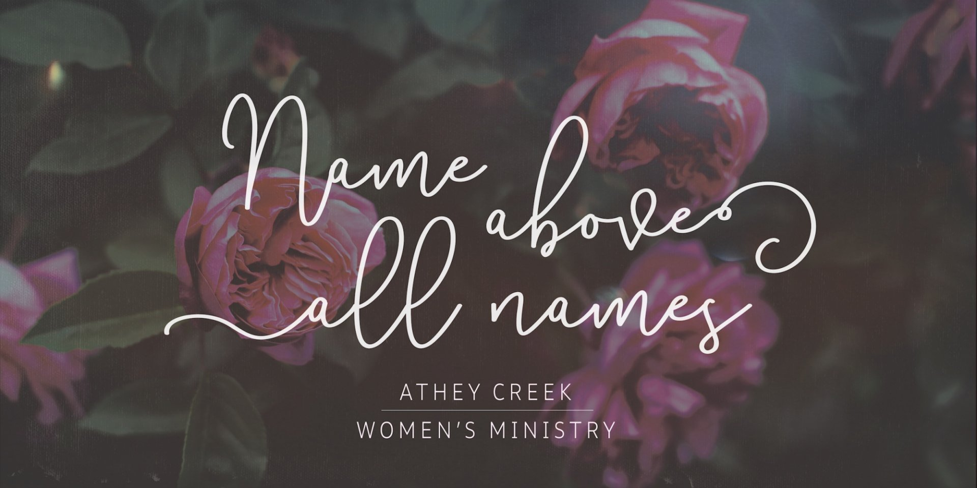 Poster forName Above All Names | I AM the Good Shepherd