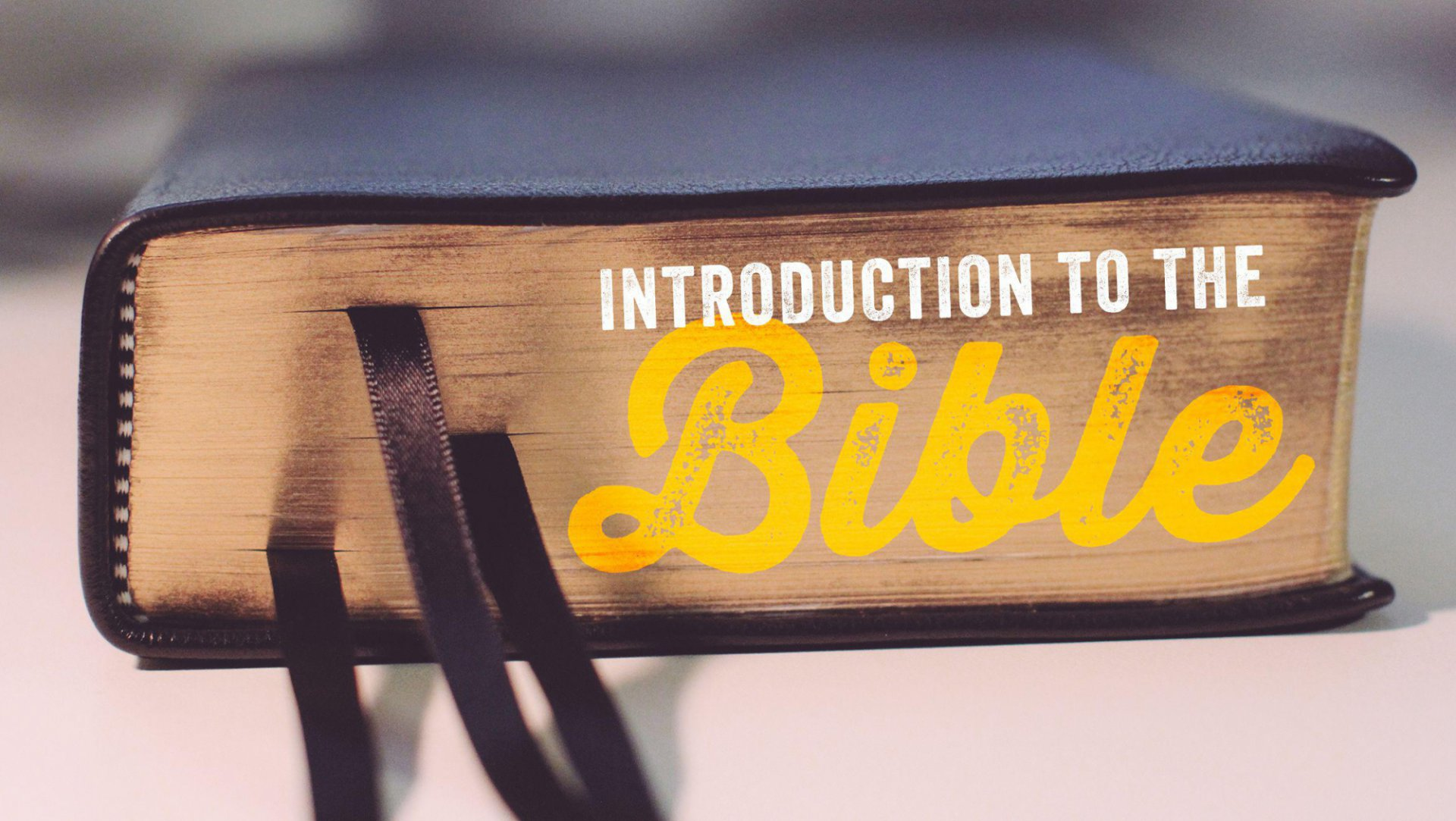 Poster forIntroduction To The Bible Pt. 2