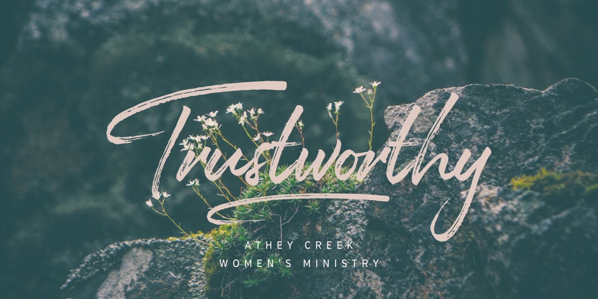 Poster forTrustworthy | Our Good Shepherd - Week Four
