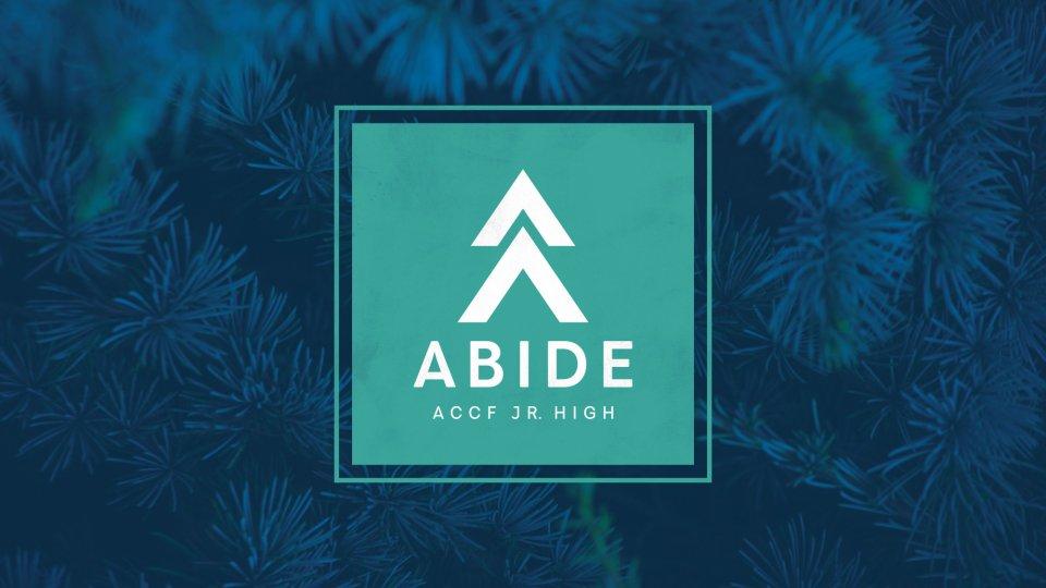 Poster forAbide