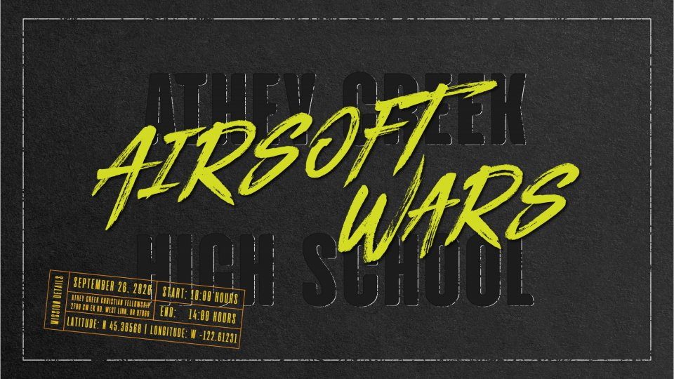 Poster forAirsoft Wars