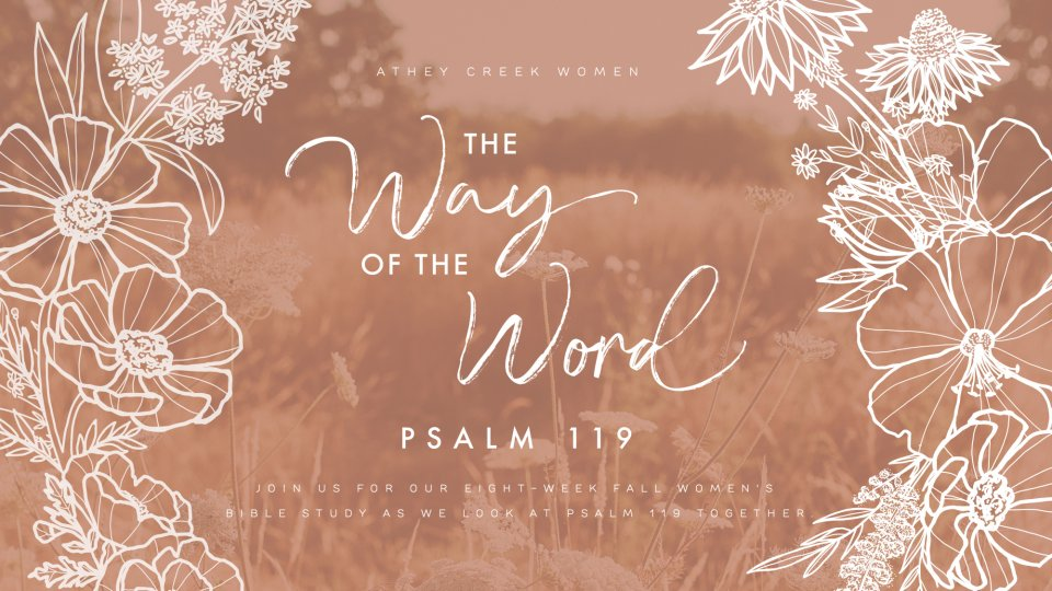 Poster for The Way of the Word: Psalm 119