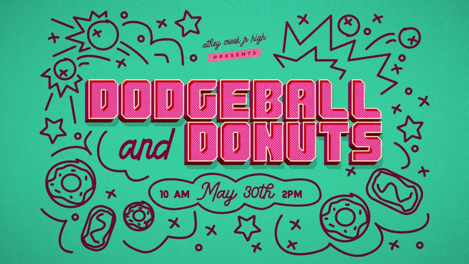 Poster forDodgeball and Donuts