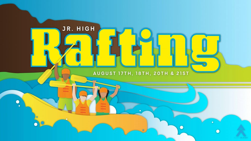 Poster forRafting Trip