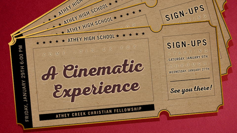 Poster forAthey High School: A Cinematic Experience