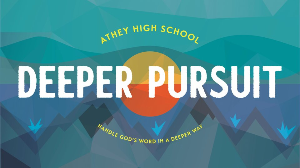 Poster forDeeper Pursuit