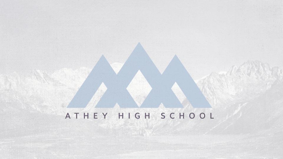 Poster forAthey High School