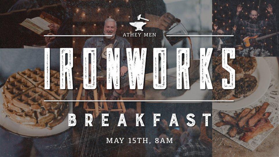 Poster forIronworks Breakfast