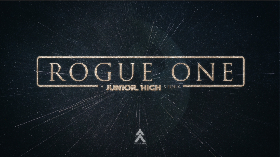 Poster forJunior High Rogue One