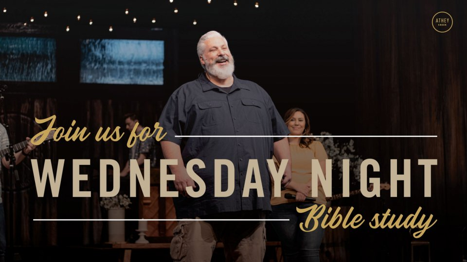 Poster forWednesday Night Bible Study
