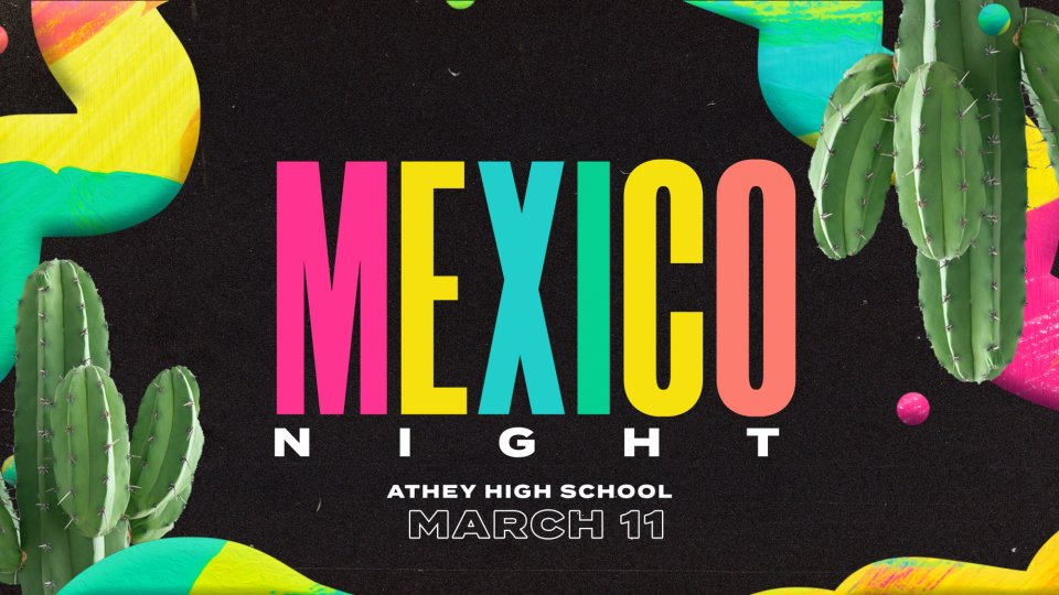 Poster forHigh School Themed Nights: Mexico Night