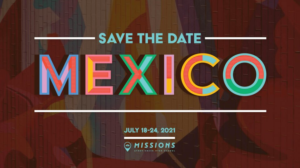 Poster forMexico Save The Date