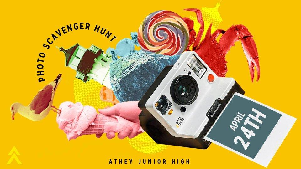 Poster forJH Photo Scavenger Hunt