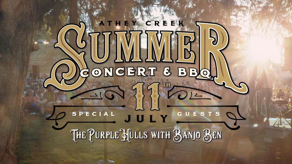 Poster forSummer Concert and BBQ