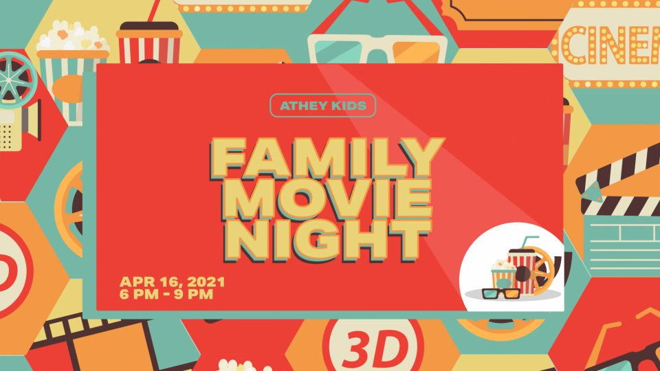 Poster forAthey Kids Family Movie Night