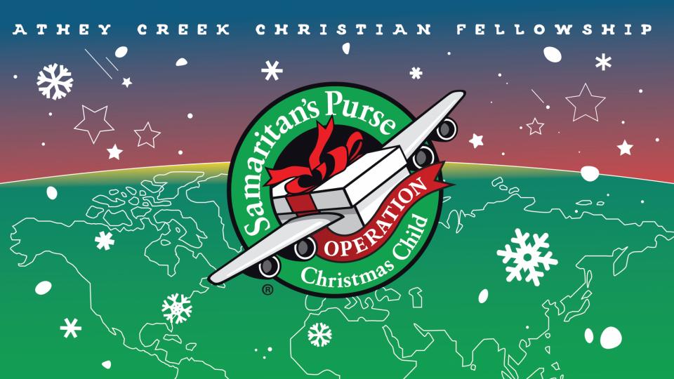 Poster forOperation Christmas Child