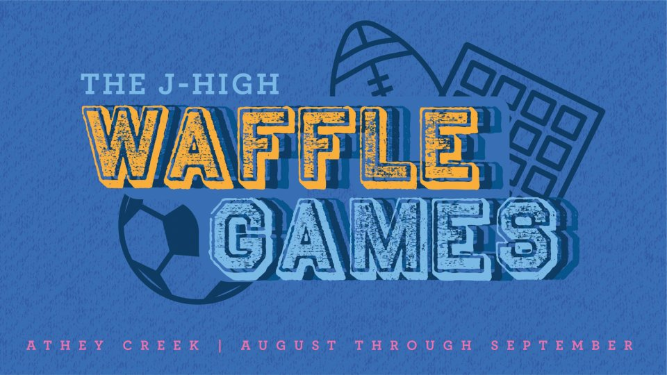 Poster forThe J-High Waffle Games