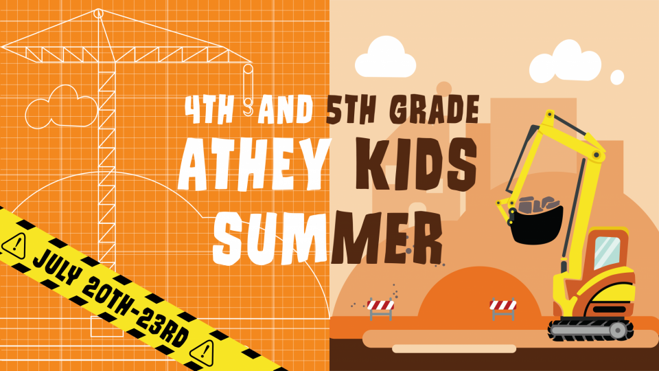 Poster forAthey Kids Summer 4th and 5th Grade